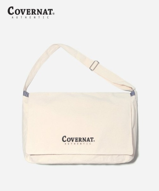 [커버낫] AUTHENTIC LOGO MAIL BAG IVORY