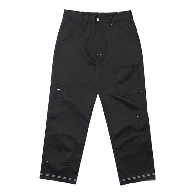 [노매뉴얼] U.D POCKET PANTS - BLACK