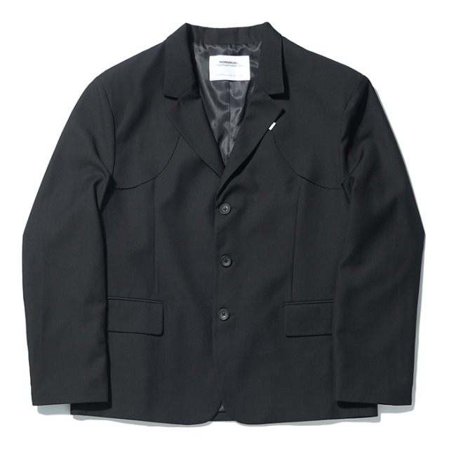 [노매뉴얼] D.F BLAZER JACKET - BLACK