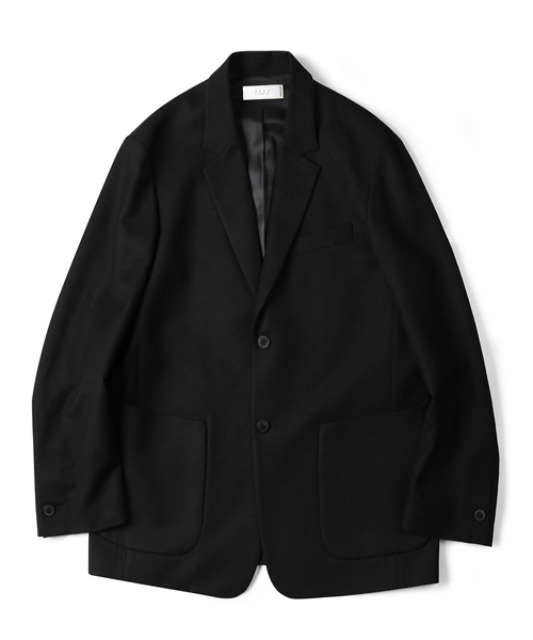 [셔터] PURE WOOL JACKET (BLACK)
