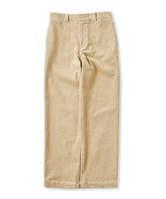 [퍼렌] 20'AW corduroy trousers_light beige