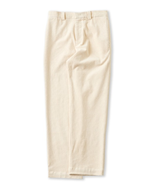 [퍼렌] 20'AW corduroy trousers_off white