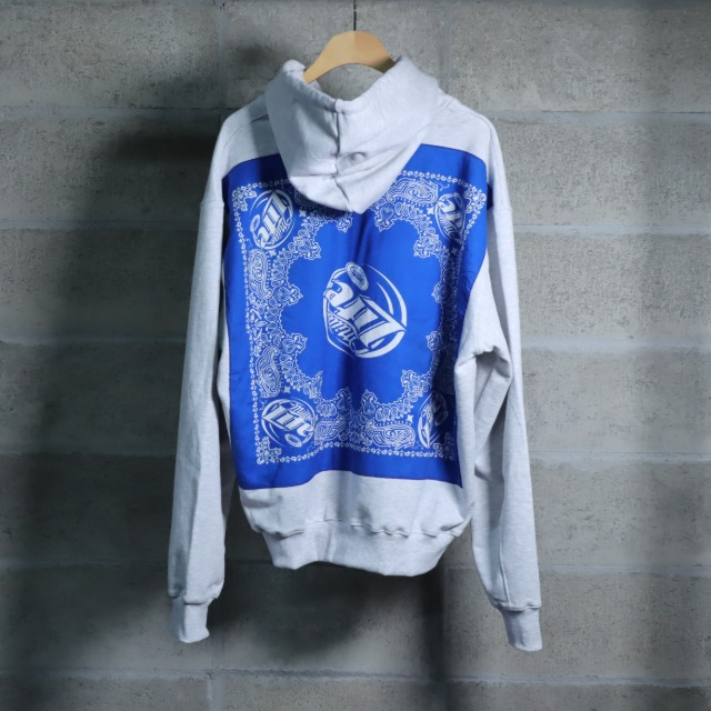 [벌스데이수트] VINTAGE BANDANA ZIP-UP melange.10