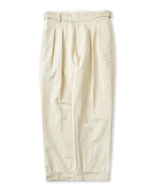 [퍼렌] 20'AW gurkha trousers_cream