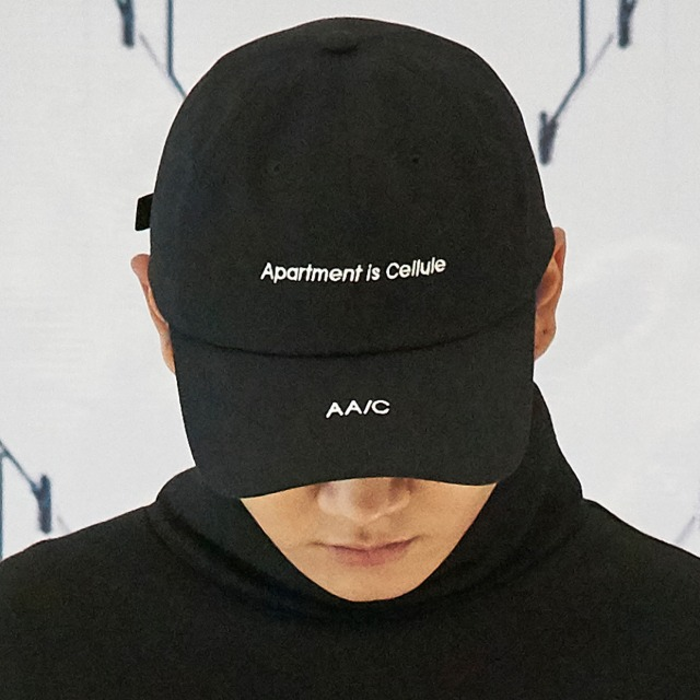 [더블에이씨] APARTMENT Ballcap (black)