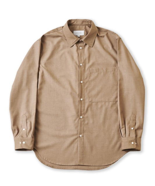[퍼렌] 20'AW 'CITY BOY'shirts_beige brown