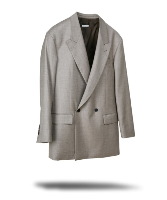 [벌스데이수트] DOUBLE BIG BLAZER (BEIGE)