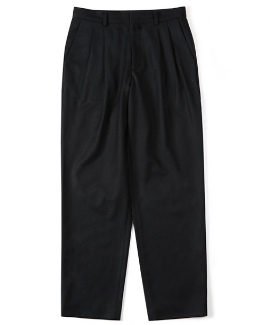 [셔터] PURE WOOL PANTS (BLACK)