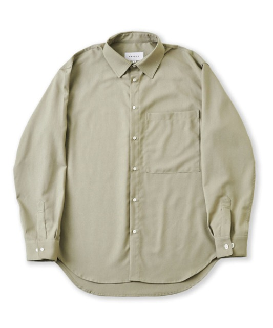 [퍼렌] 20'AW 'CITY BOY'shirts_sage gray