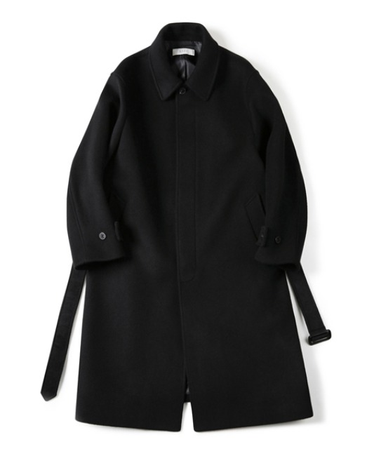 [셔터] FINE MASTER WOOL BAL COLLAR COAT (BLACK)