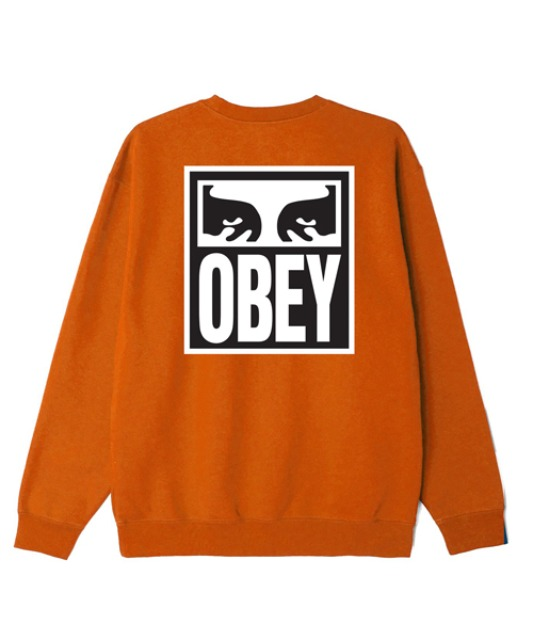 [오베이] OBEY EYES ICON 2 - PUMPKIN SPICE 스웻셔츠