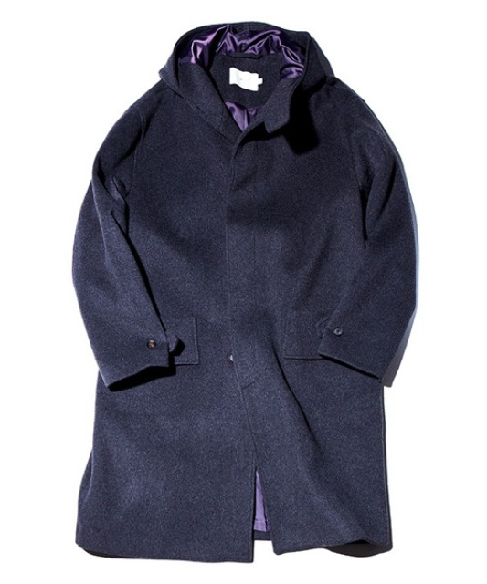 [아워셀브스] SOFT WOOL HOODED COAT (Charcoal)
