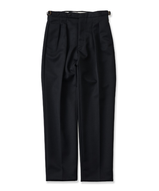 [퍼렌] 2pleats trousers(set up)_black