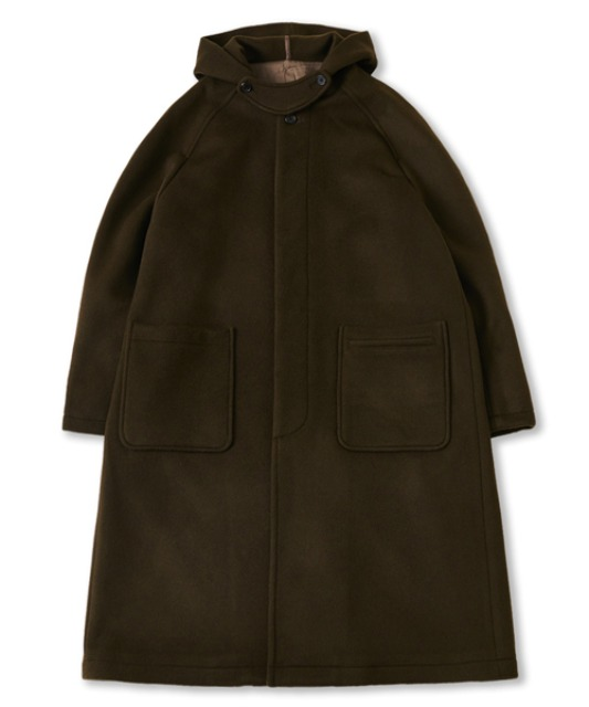 [퍼렌]  hooded coat_khaki