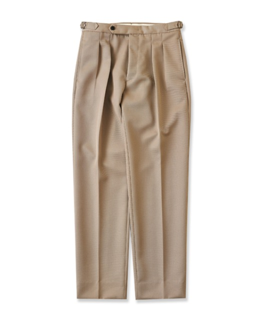 [퍼렌] 2pleats trousers(set up)_beige