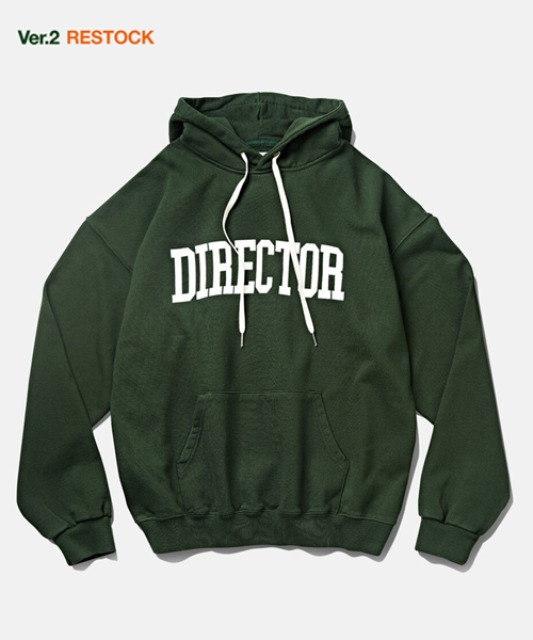 [듀테로] DTR1951 DTRO+AFST Director Hoodie Forest Green