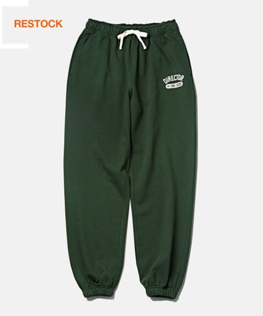 [듀테로] DTR1953 DTRO+AFST Director Sweat Pants Forest Green
