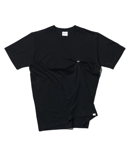 [노매뉴얼] DRP T-SHIRT - BLACK