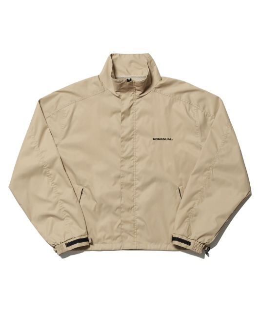 [노매뉴얼] FD WINDBREAKER JACKET - BEIGE