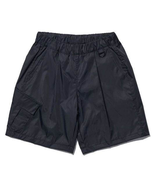 [노매뉴얼] FD SINGLE CARGO SHORTS - BLACK