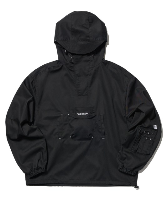 [노매뉴얼]3DP ANORAK JACKET - BLACK