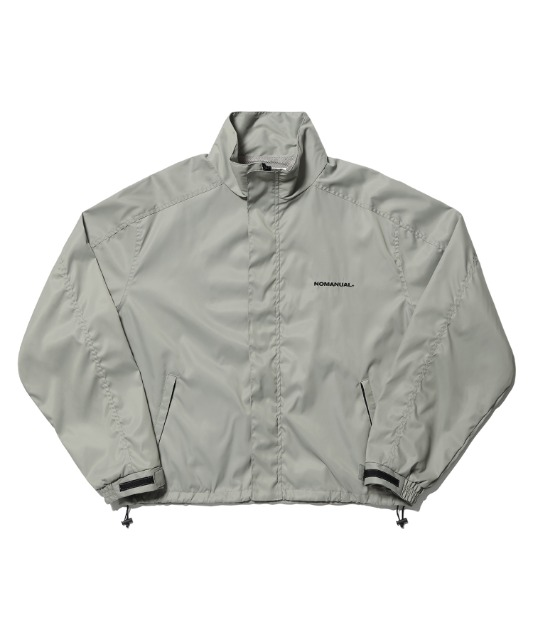 [노매뉴얼] FD WINDBREAKER JACKET - WARM GRAY