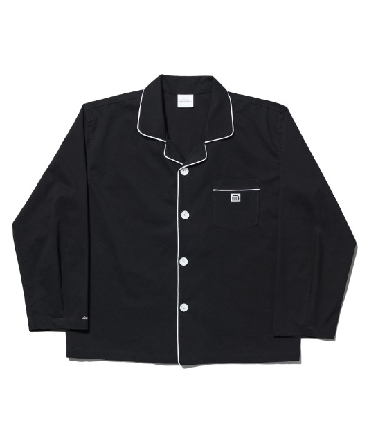 [노매뉴얼] NM PAJAMA SHIRT - BLACK