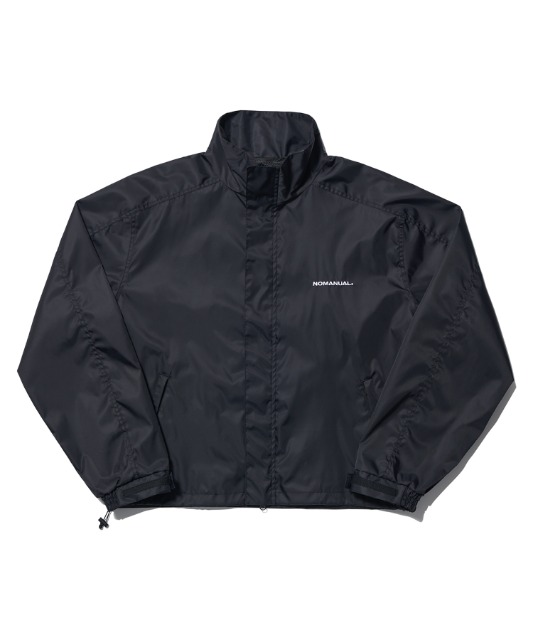 [노매뉴얼](L SIZE 3.12 예약배송)FD WINDBREAKER JACKET - BLACK