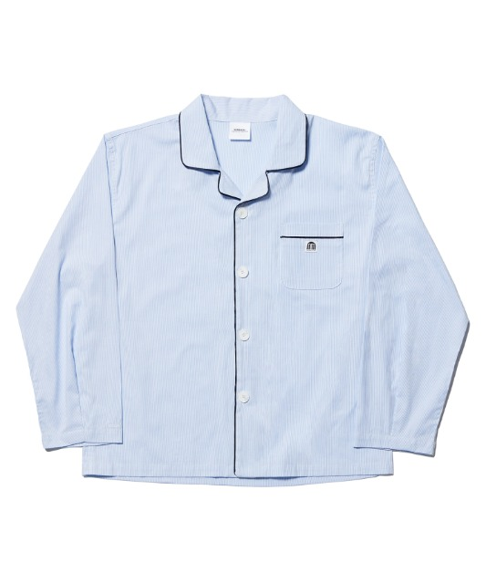 [노매뉴얼] NM PAJAMA SHIRT - STRIPED