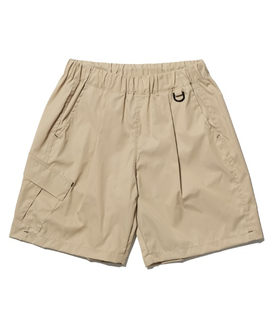 [노매뉴얼] FD SINGLE CARGO SHORTS - BEIGE