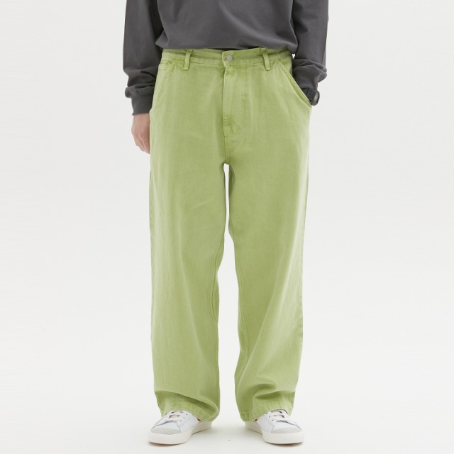 [위캔더스] LOOSE FIT PANTS (GREEN)