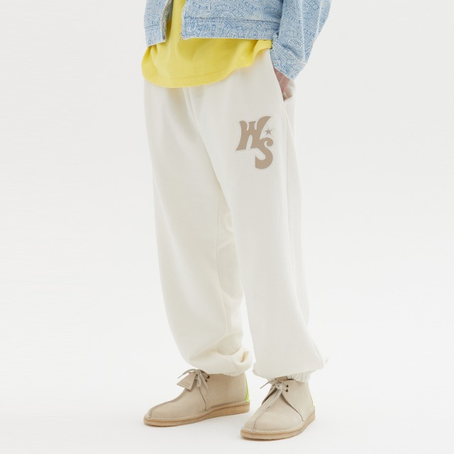 [위캔더스] WS SWEAT PANTS (IVORY)