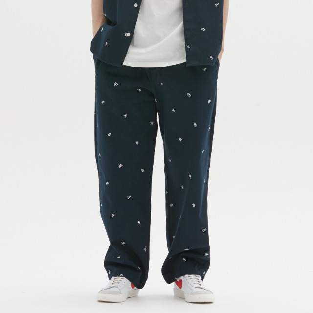 [위캔더스] CURRENCY PANTS (NAVY)
