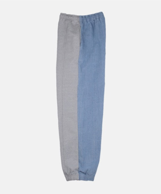 [슬로우아카이브] ASURA Denim Sweat Pants Light Blue