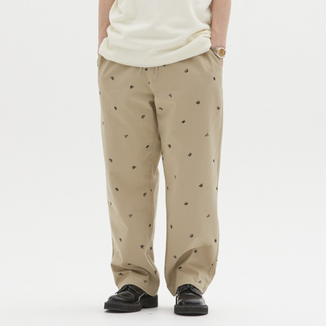 [위캔더스] CURRENCY PANTS (BEIGE)