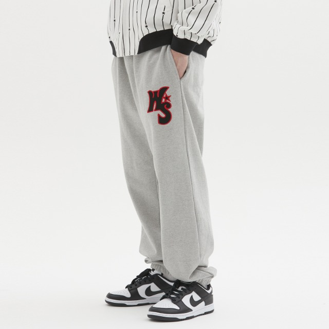 [위캔더스] WS SWEAT PANTS (GREY)
