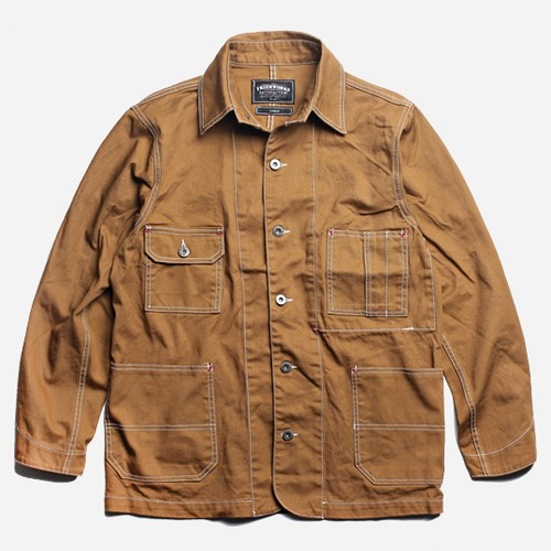 [프리즘웍스]Coverall work jacket _ camel