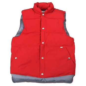 [스웰맙]Swellmob Mt. puff down vest -red-