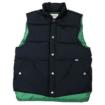 [스웰맙]Swellmob Mt. puff down vest -navy-