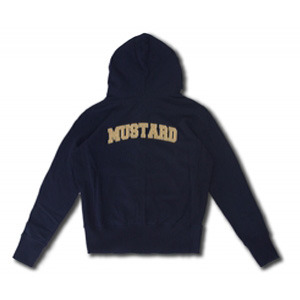 [코이그레이]MUSTARD PATCH ZIP HOOD ( NAVY)
