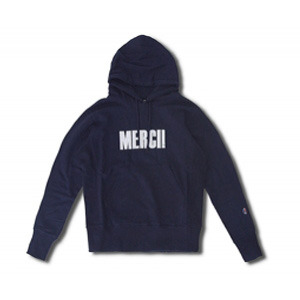 [코이그레이]MERCI! PATCH HOOD (NAVY)