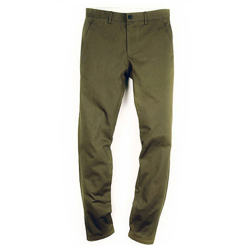 M#0084 cotton chino pants (khaki)