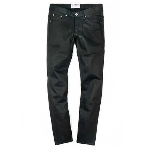 [모디파이드]M#0095 black coating jeans