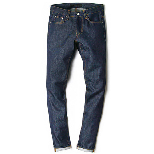 M#0109 left twill non span rigid denim