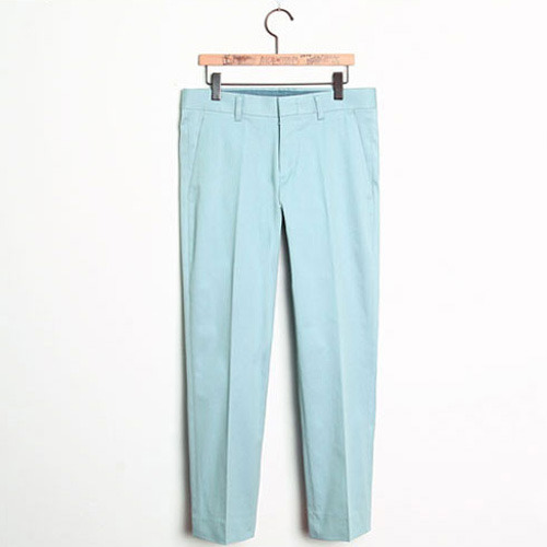 M#0157 cotton cropped pants