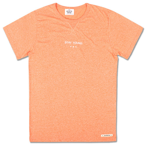 SOFT MELANGE TEE Orange