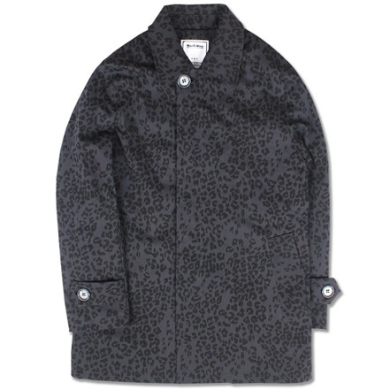 LEOPARD SINGLE COAT (DARK GRAY)