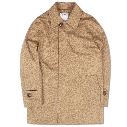 LEOPARD SINGLE COAT (BEIGE)