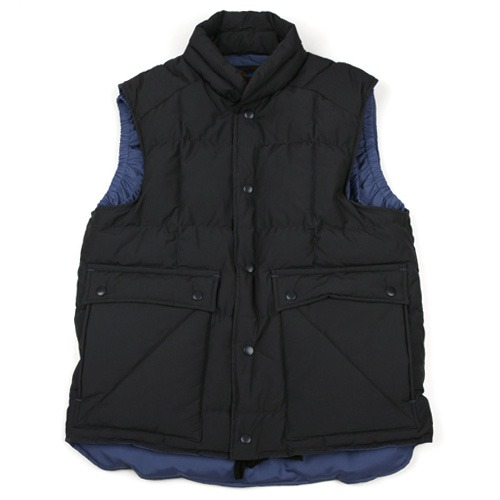 Swellmob square mt.down vest -charcoal-