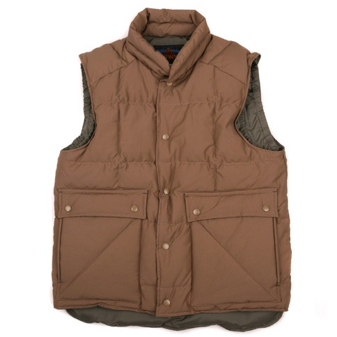 Swellmob square mt.down vest -beige-